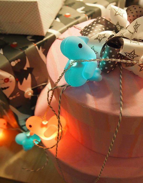 stringlight duck canar heart multicolor dhink415 2