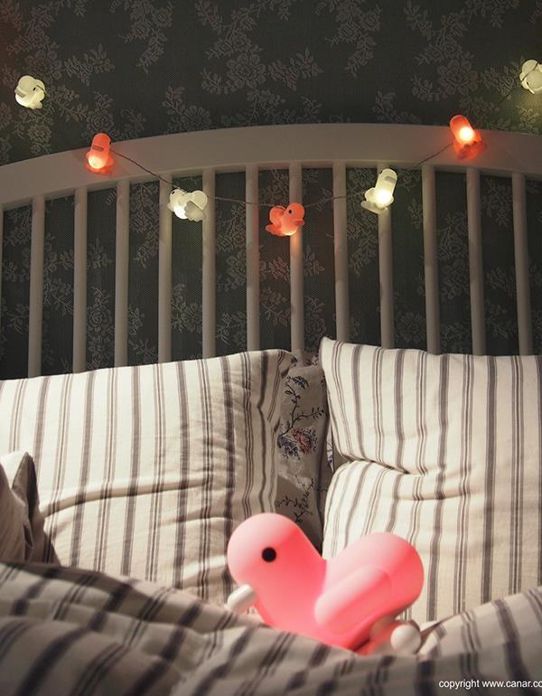 stringlight duck canar heart multicolor dhink415 5