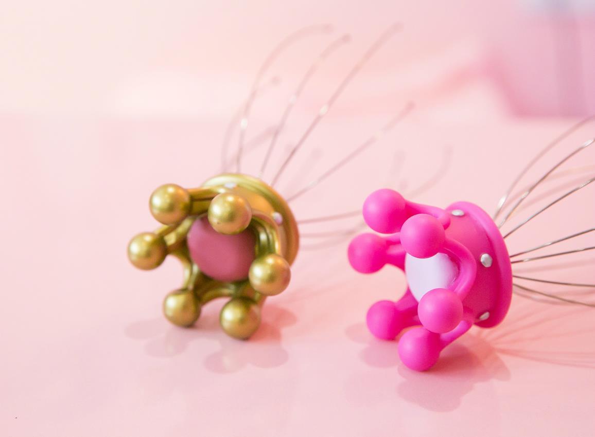 headmassager crown gold pink dhink341 2
