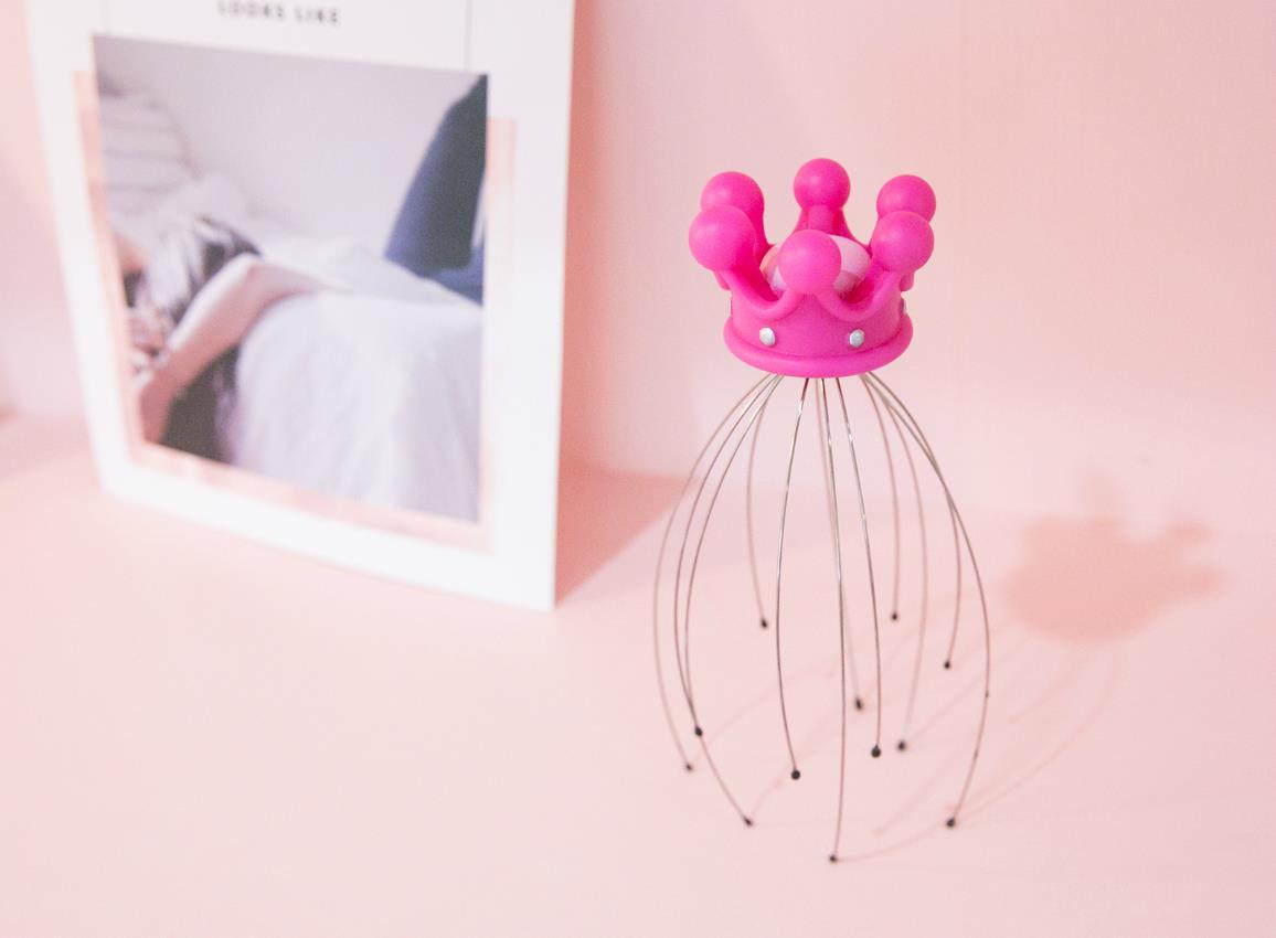 headmassager crown gold pink dhink341 3