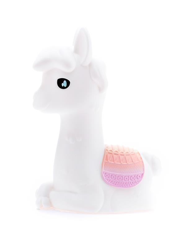 nightlight alpaca llama rechargeable white dhink353 21 9