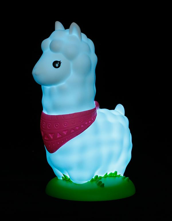 nightlight alpaca llama white dhink363 11