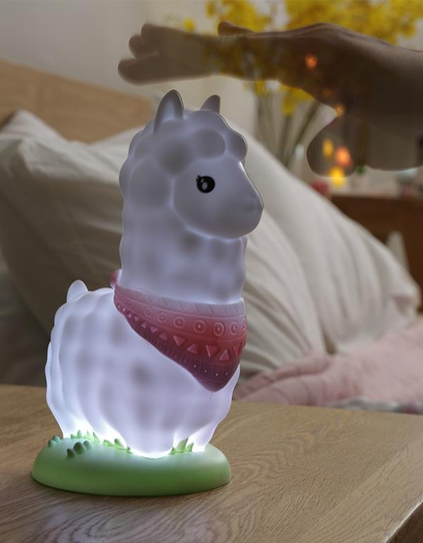 nightlight alpaca llama white dhink363 6