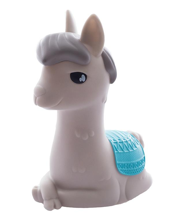 nightlight alpaca llama white grey dhink353 4