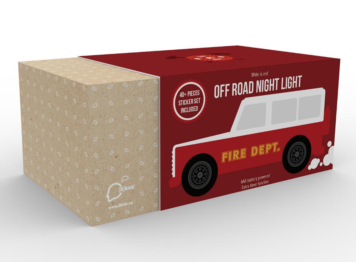 nightlight car firetruck police traveller dhink507 16