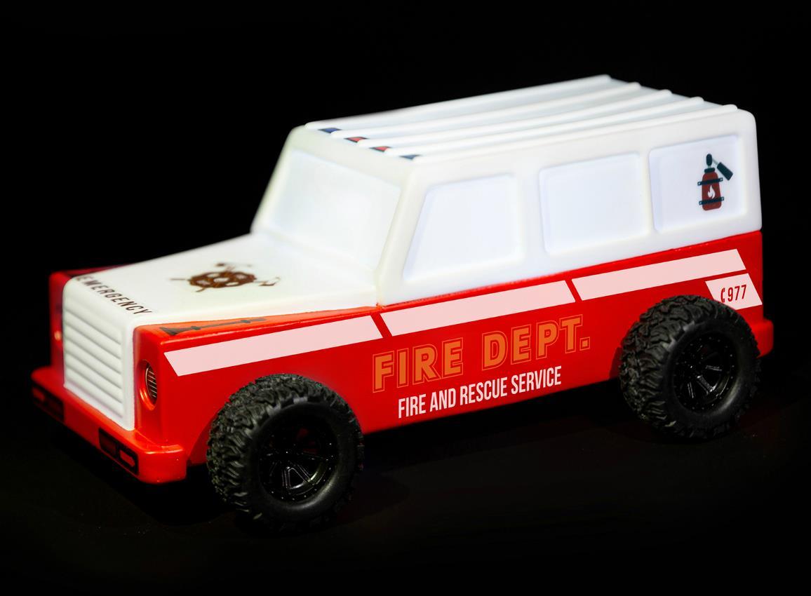 nightlight car firetruck police traveller dhink507 6