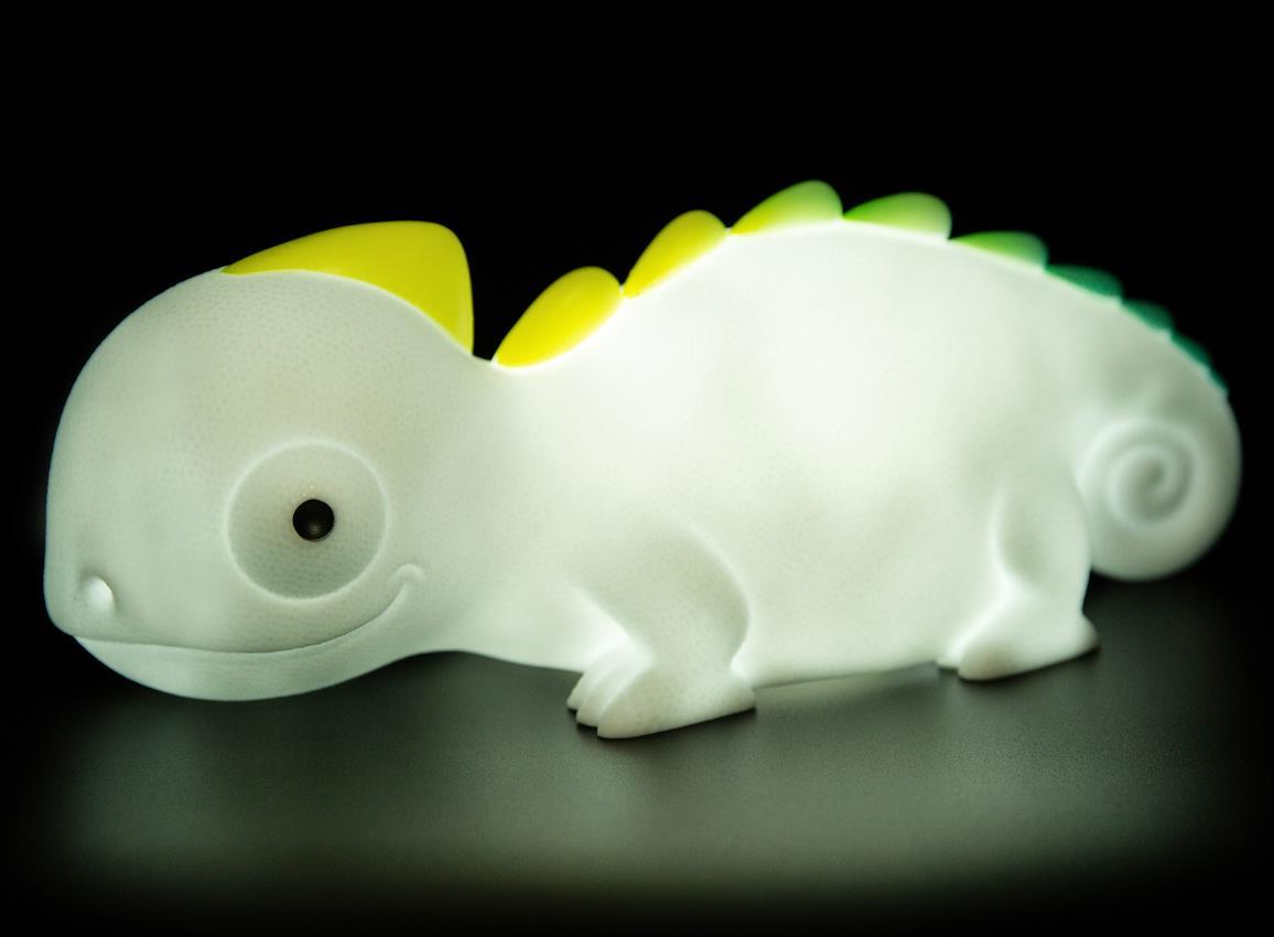 nightlight chameleon rechargeable white dhink372 21 5