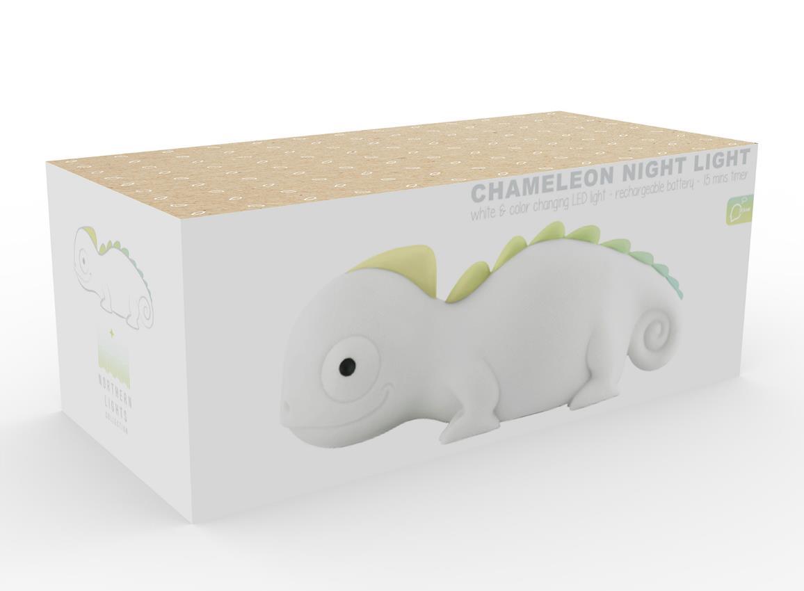 nightlight chameleon rechargeable white dhink372 21 9