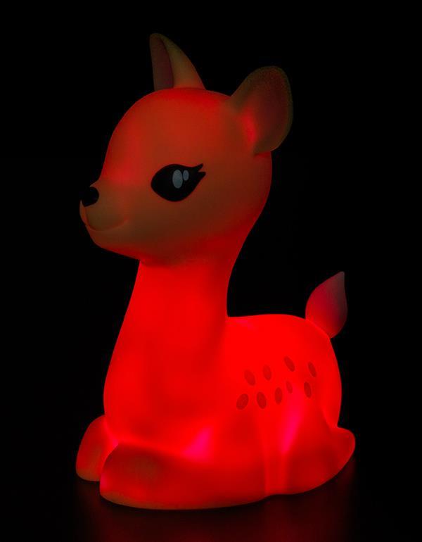 nightlight deer brown blue pink dhink370 3