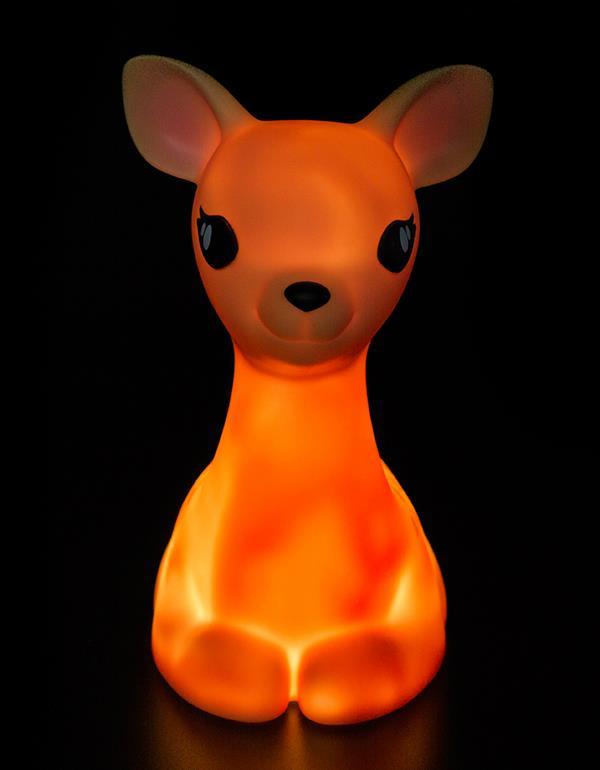 nightlight deer brown blue pink dhink370 8