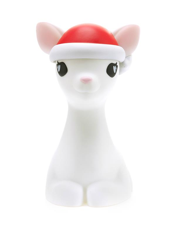 nightlight deer christmas white dhink370 05 1