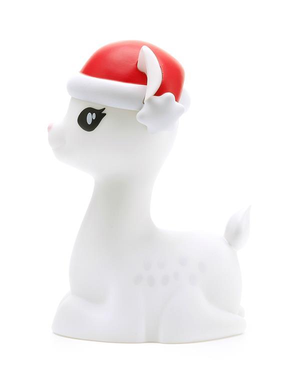 nightlight deer christmas white dhink370 05 2