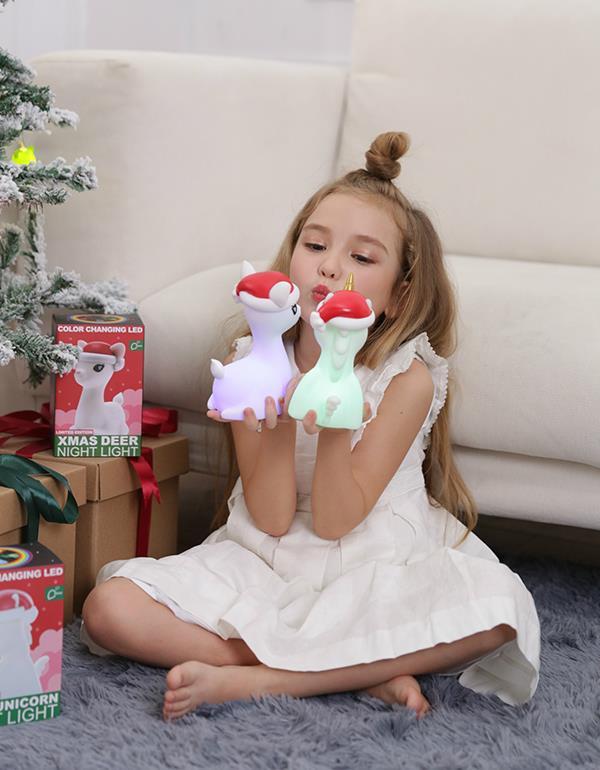 nightlight deer christmas white dhink370 05 8