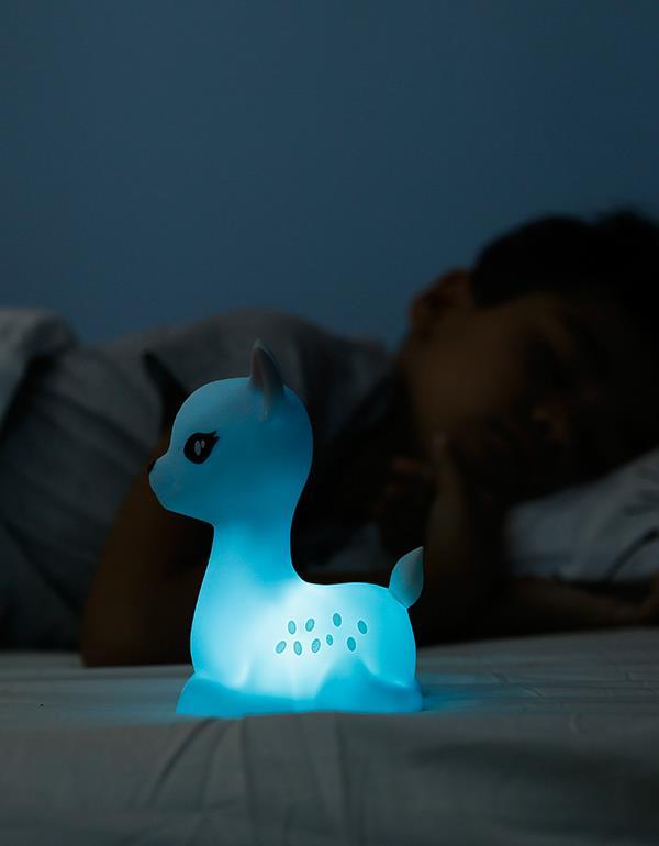 nightlight deer rechargeable white dhink370 21 7