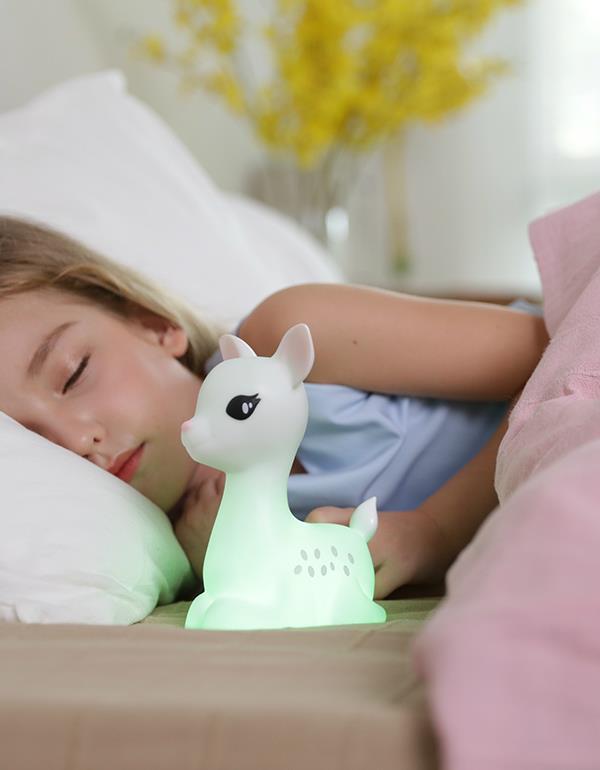 nightlight deer rechargeable white dhink370 21 8