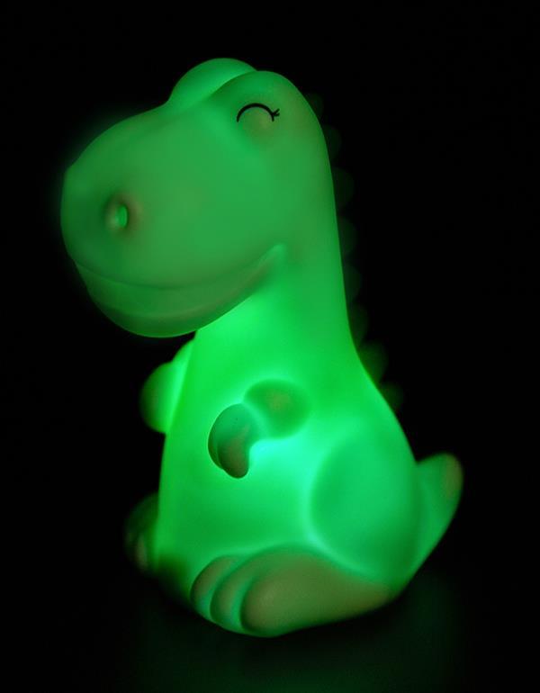 nightlight dino baby white green dhink471 8