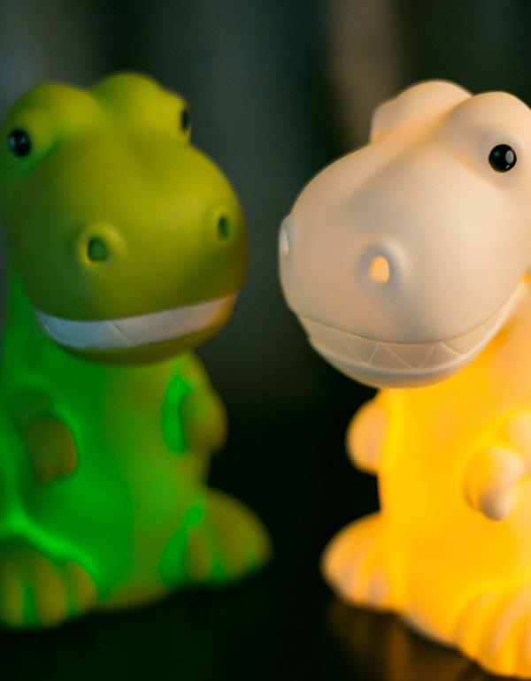 nightlight dino green white dhinkdino 4