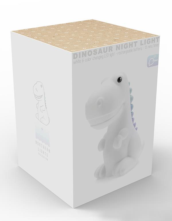 nightlight dino rechargeable white dhink323 21 12
