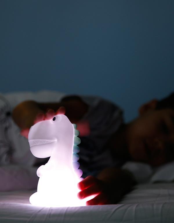 nightlight dino rechargeable white dhink323 21 7