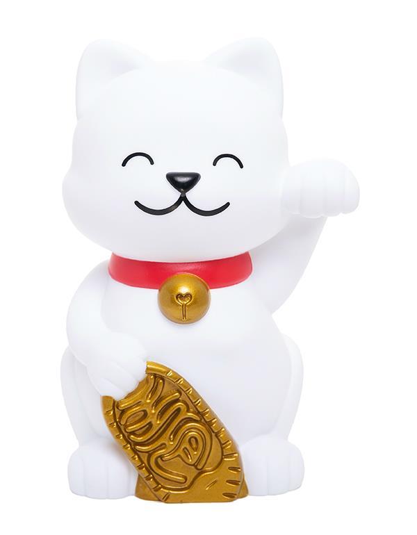 nightlight lucky cat white dhink379 1