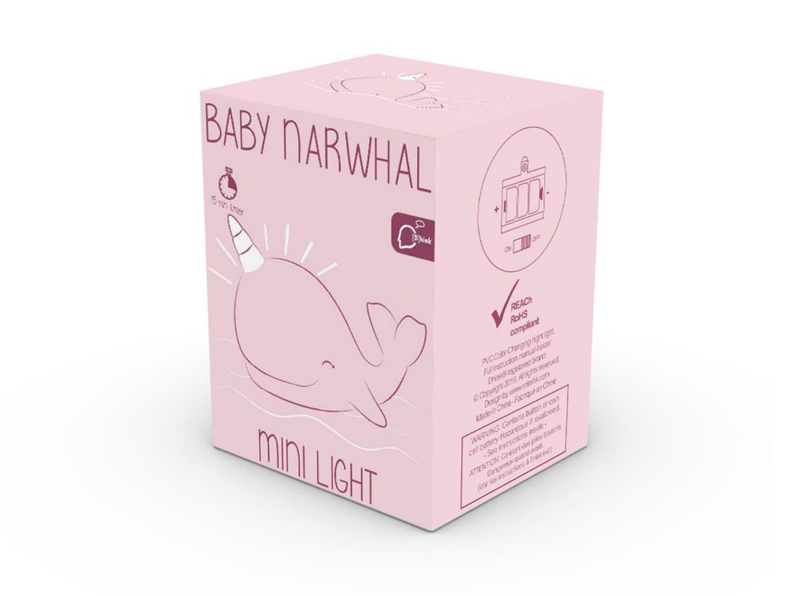 nightlight narwhal baby pink blue dhink472 8
