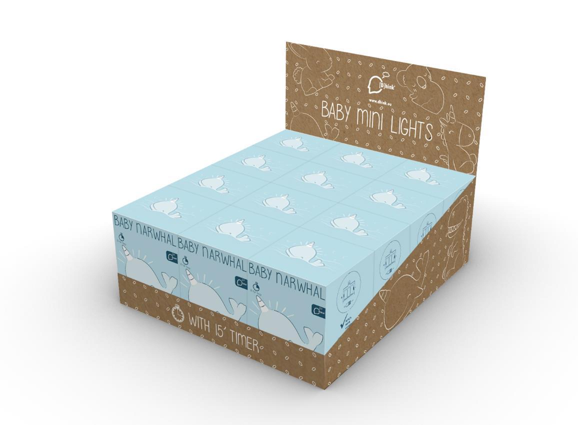 nightlight narwhal baby pink blue dhink472 9