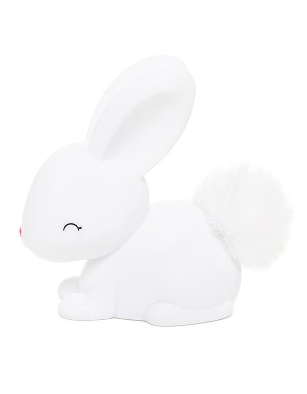 nightlight rabbit baby white pink dhink473 2