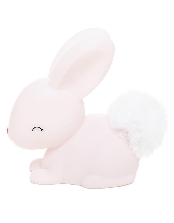 nightlight rabbit baby white pink dhink473 6