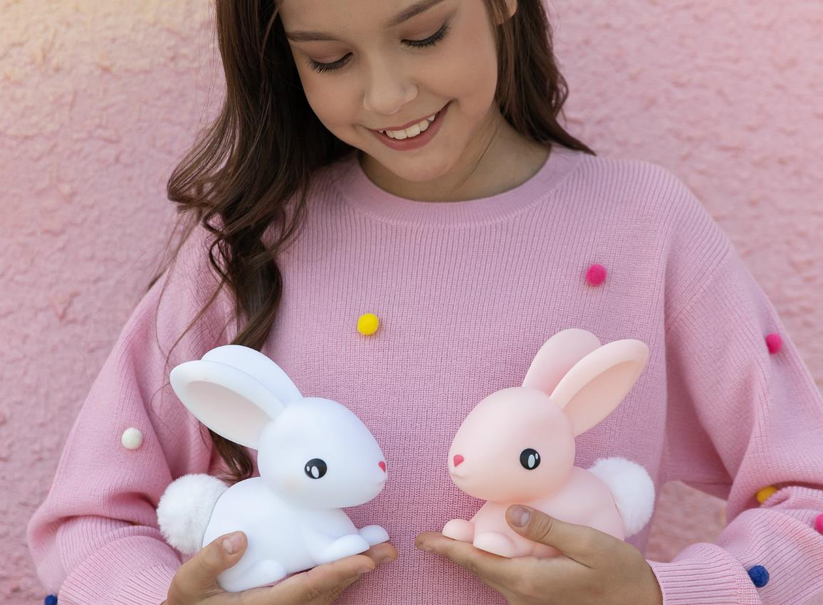 nightlight rabbit rechargeable white dhink376 21 1