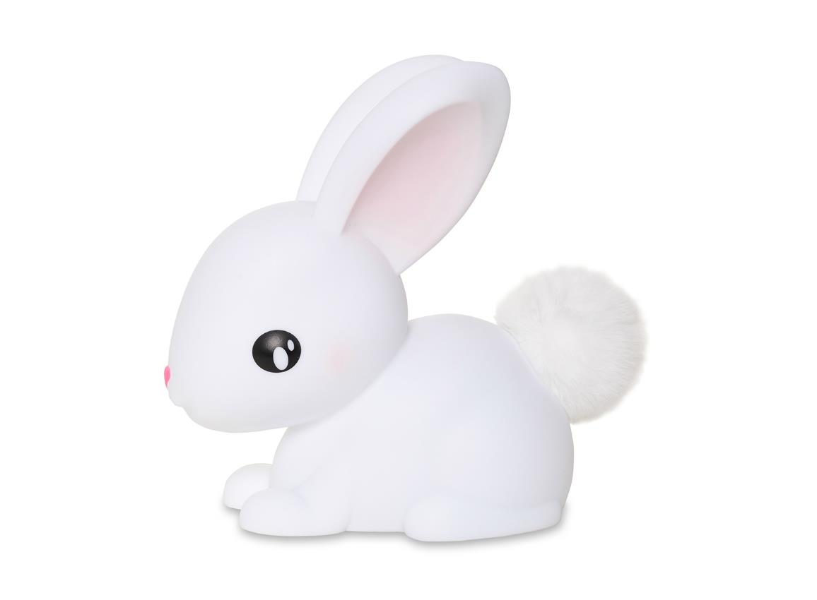 nightlight rabbit rechargeable white dhink376 21 2