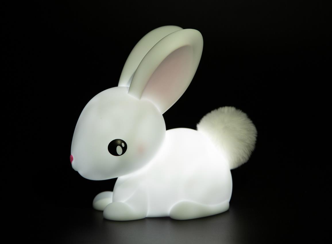 nightlight rabbit rechargeable white dhink376 21 5