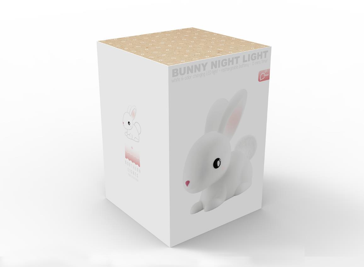 nightlight rabbit rechargeable white dhink376 21 8