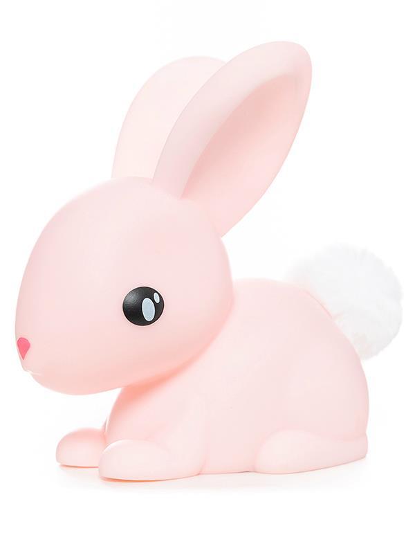 nightlight rabbit white pink dhink376 2