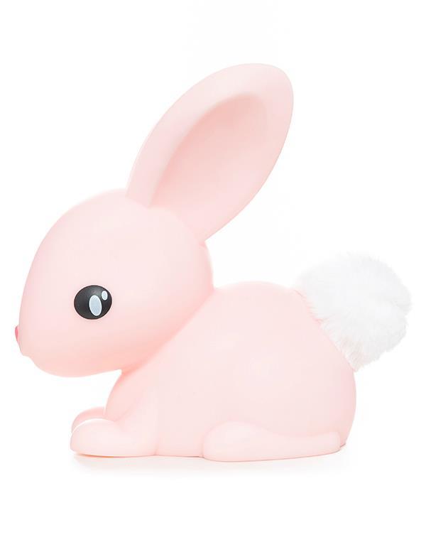 nightlight rabbit white pink dhink376 5