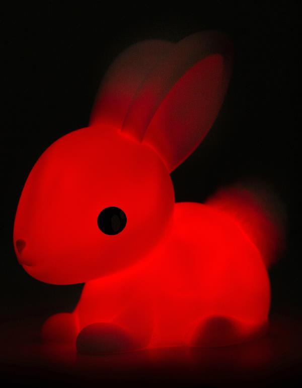 nightlight rabbit white pink dhink376 8