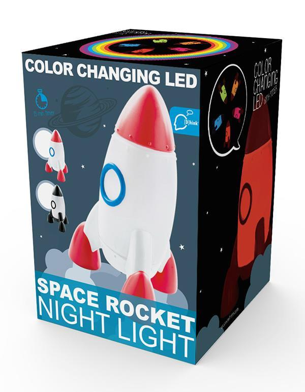 nightlight rocket red blue black silver dhink330 11