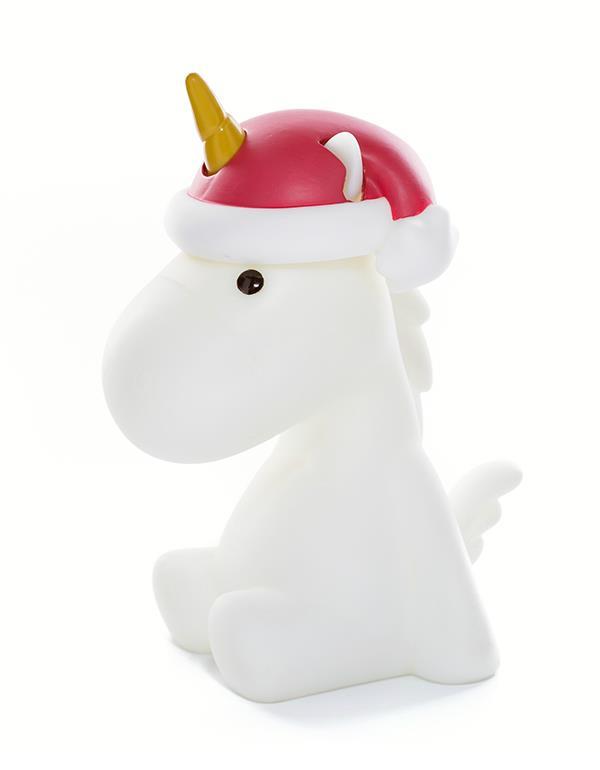 nightlight unicorn christmas white dhink321 05 2