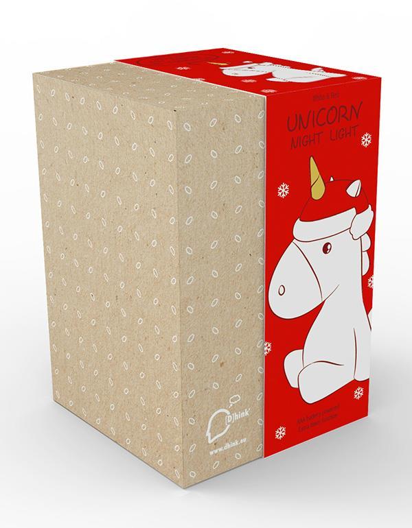 nightlight unicorn christmas white dhink321 05 4