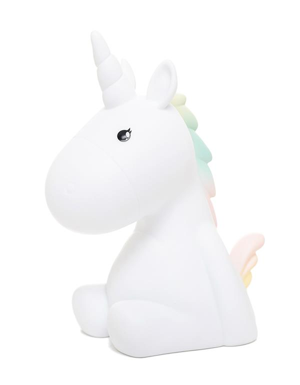 nightlight unicorn rechargeable white dhink338 21 3