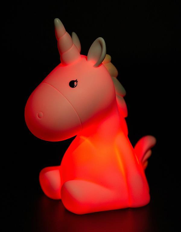 nightlight unicorn rechargeable white dhink338 21 7