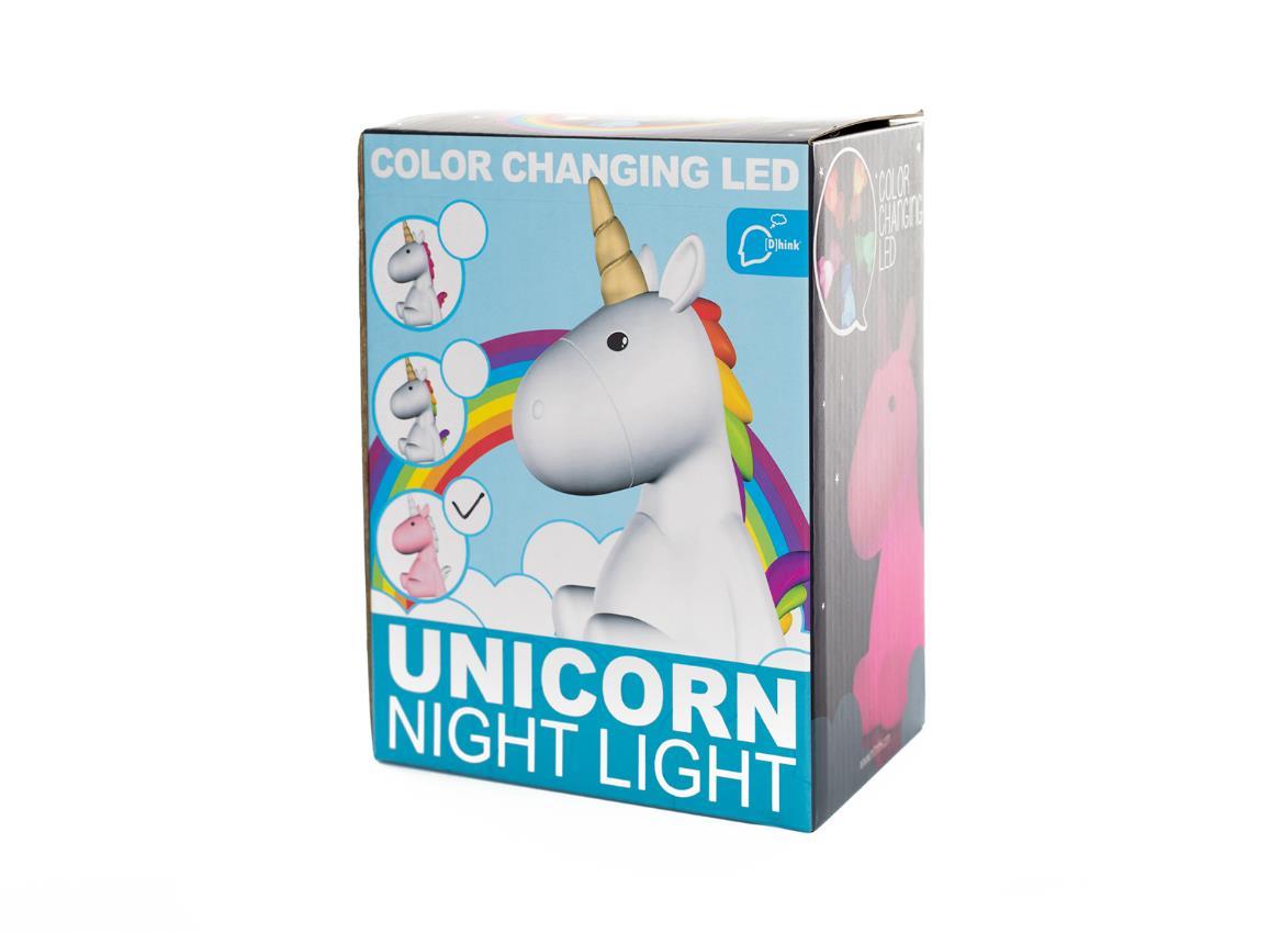 nightlight unicorn white pink dhink321 3