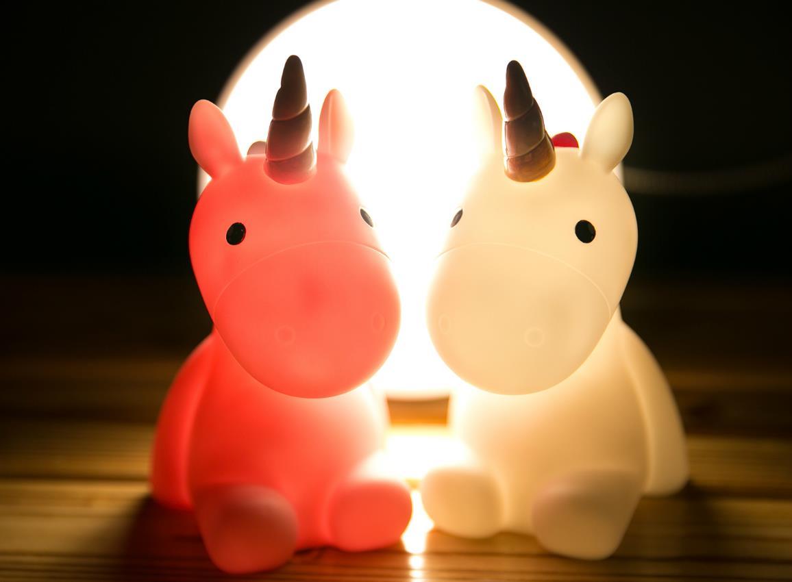 nightlight unicorn white pink dhink321 6