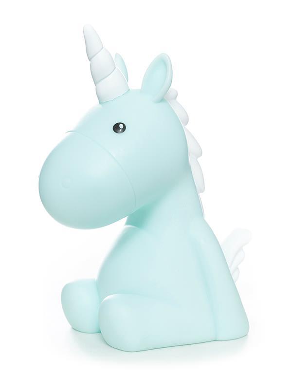 nightlight unicorn yellow pink blue green white dhink338 7