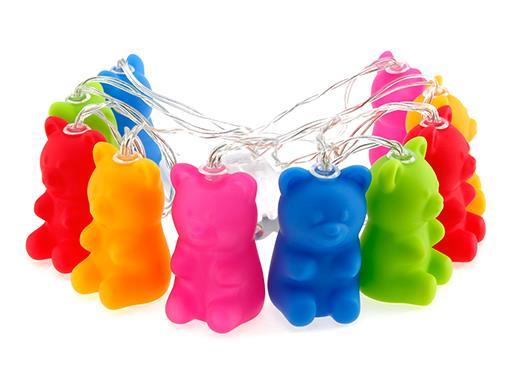 stringlight candy bear multicolor dhink359 3
