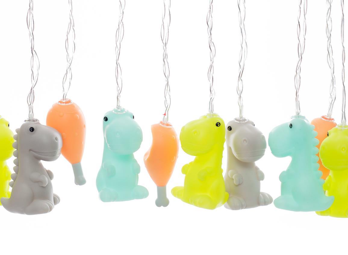 stringlight dino multicolor dhink335 10