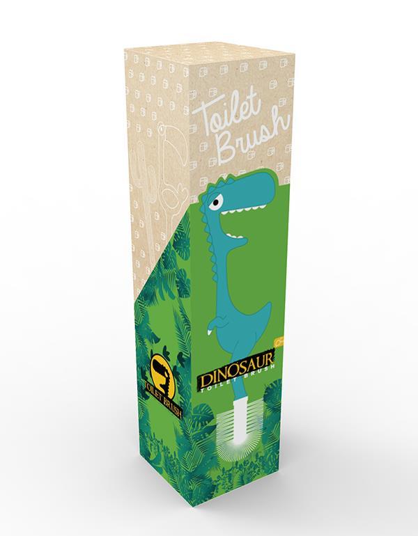 toiletbrush dino blue green dhink313 6