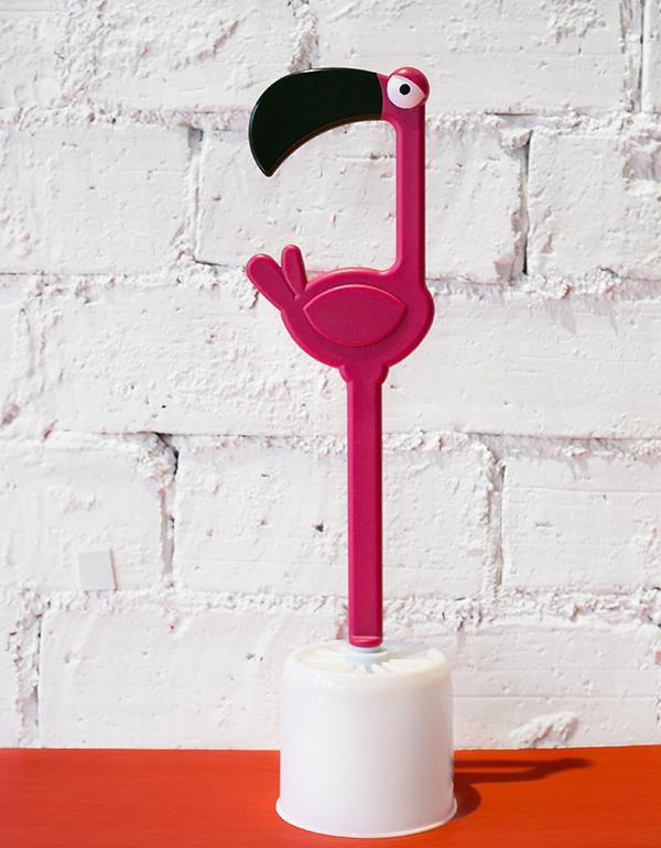 toiletbrush flamingo pink dhink312 2