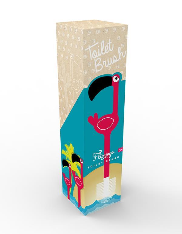 toiletbrush flamingo pink dhink312 8