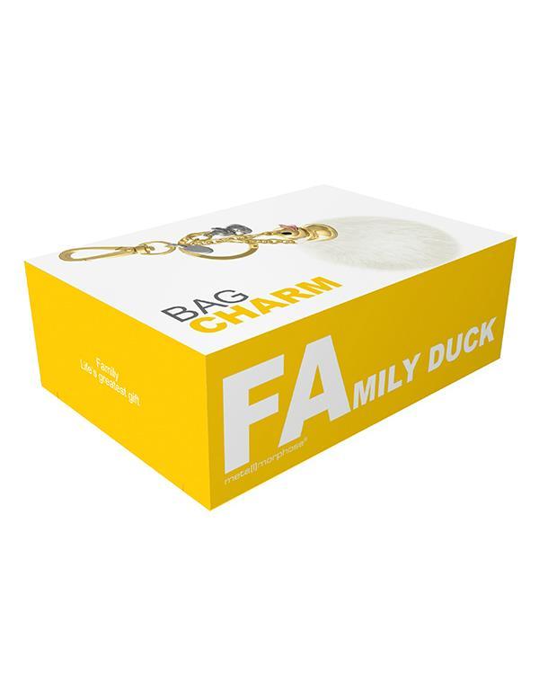 bagcharm duck pompom white gold metalmorphose mtm187 3(1)