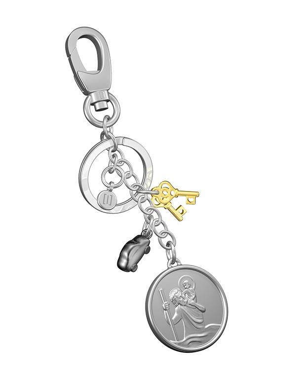 bagcharm saint christopher silver metalmorphose mtm110 1